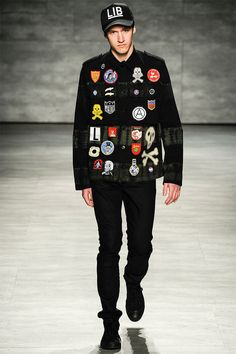 Libertine presented its Fall/Winter 2014 collection during Mercedes-Benz Fashion Week New York.
