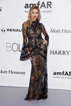 49 Glamourous Looks on the amfAR Red Carpet | ELLE UK