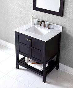 24 Inch Bathroom Vanity Combo eclife 24 inch modern design bathroom vanity combo and sink combo