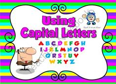 Capital Letters - Teach It in an Hour from Rosies Resources on TeachersNotebook.com (100 pages) - An awesome way to teach capital letters. Another great Teach It in an Hour resource from Rosie's Resources.