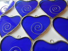 1 Stained Glass HEART  Wedding or Party by ShatteredbyLight, $6.00