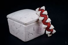 Wishful Things: (Fangtasia inspired) Dragon Teeth in red/white.