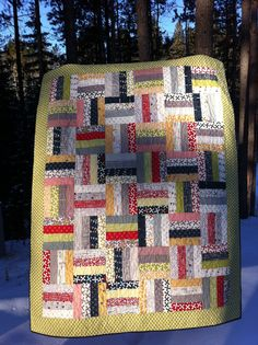 Reunion Jelly Roll Rail Quilt