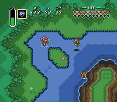 legend of ZELDA 3 a link to the past