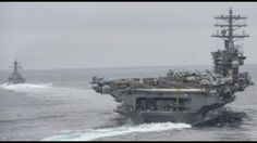 Show of Force: US Deploys Third Aircraft Carrier to North Korea Published on May 27, 2017 While it is rare for the U.S. military to deploy two carriers in the same region at the same time, it is almost unheard of to have three aircraft carriers in close proximity to each other absent current or imminent military action.