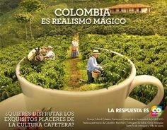 Está es una fotot que representa el realismo magico. La foto es forma de publicidad de la cultura Colombiana. El realismo magico es una técnica literaria que García Marquez introdujo a Colombia y al mundo. Ap Spanish, Art Direction, Cali, Literature, Advertising, Inspirational, Key, Shape, Creative