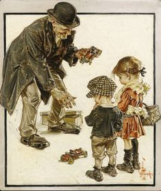 Art And Illustration, Illustrations, Character Concept, Character Art, Character Design, Norman Rockwell, Lucas Museum, Jc Leyendecker, Graphisches Design