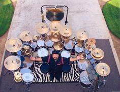 mike portnoy drum set