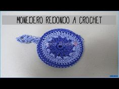 MONEDERO PETUNIA - YouTube Crochet Coin Purse, Crochet Shoes, Crochet Earrings, Knitting Videos, Crochet Videos, Crochet Handbags, Crochet Bags, Blooming Flowers, Zipper Bags