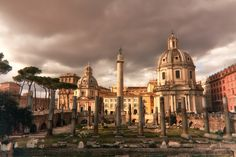 One of my favorites from Rome...The lighting worked out just perfect. This is from the Roman Forum during an evening where the storm clouds in combination with the low setting sun gave a wonderful warm feeling to the scene. I added some of my traditional styling to the photo but not that much, this is pretty close to what it looked like out of the camera.