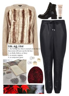 """imagine."" by bluveraa ❤ liked on Polyvore featuring River Island, Topshop, Kenzo, Jocelyn, House of Harlow 1960, Autumn Cashmere, philosophy, women's clothing, women and female"