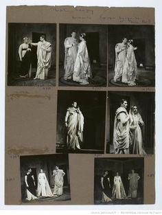 [Bérénice, de Jean Racine. Mise en scène de Jean-Louis Barrault. 1955 : photographies / de Etienne Bertrand Weill] | Gallica
