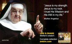 #MondayMotivation #MotherAngelica #Advent #EWTN