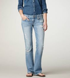 AE Favorite Boyfriend Jean, $ 49.50 (fave weekend jean w/leggings underneath)