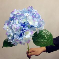 Artificial Hydrangea Flower 80cm/31.5 Fake Silk Single Hydrangeas For Wedding Centerpieces Home Party Decorative Flowers From Xiaorong2010, $1.99 | Dhgate.Com