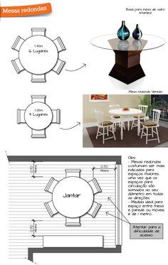 Qual o formato de mesa de jantar ideal para a sua casa?