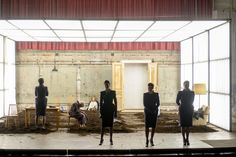Die Unverheiratete Robert Borgmann Burgtheater Wien © Georg Soulek