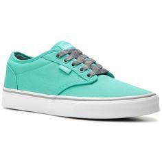 Vans Atwood Sneaker - Womens | DSW ($45) ❤ liked on Polyvore featuring shoes, sneakers, vans footwear, vans trainers, vans shoes and vans sneakers
