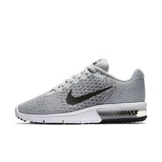 beafbe1105575 Nike Air Max Sequent 2 Women s Running Shoe Size 11.5 (Silver) - Clearance  Sale