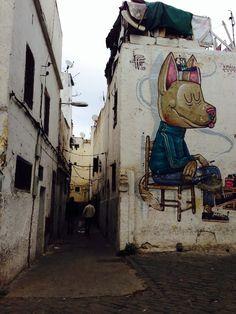 Casablanca alleyway