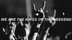 Kings of the Weekend from Blink182 California album