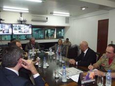 Cônsul de Israel visita a SSP-SC