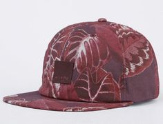 Island Time Strapback Cap by AFENDS