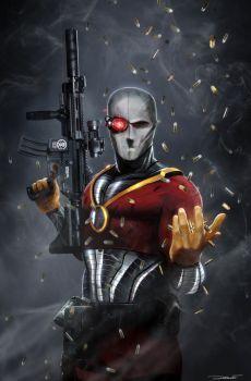 Deadshot WIP by uncannyknack on DeviantArt