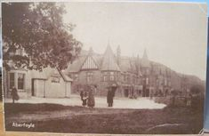 Scottish Postcard ABERFOYLE Victorian Hotel Tourists Trossachs Scotland UK | eBay