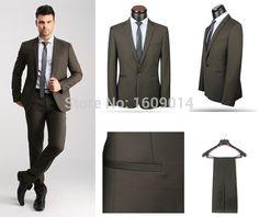 Free shipping 2 pieces BMS-152 casual slim men suit jacket 2015 manufacture loose suit european style suit