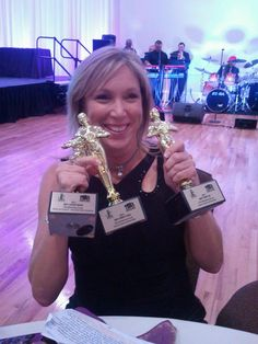 Our CEO Kelly receives awards for Tampa  Bay Builders Assoc./ Best Marketing campaigns!