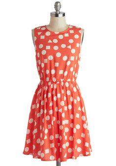 Summertime Spirit Dress   Mod Retro Vintage Dresses   ModCloth.com