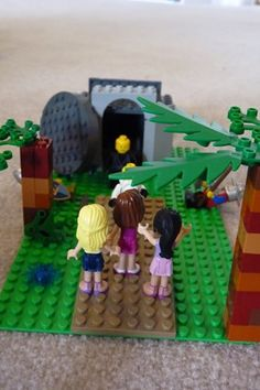Using Legos to tell the Easter story