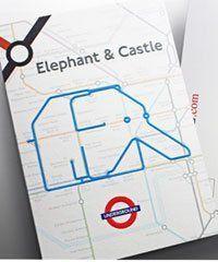Animals found in the London Underground Tube Map