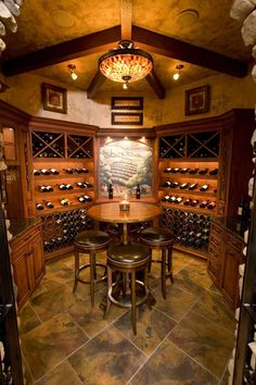 We love a nice glass of Pinot after a long day of work, but we're lucky if we can keep our measly six-bottle wine racks well-stocked until the end of the week. Although, not everyone has this problem. Some homeowners have luxurious wine cellars in their homes that store hundreds or even thousands of