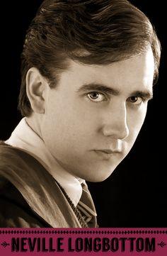 Neville Longbottom, Gryffindor. #HogwartsStudents #Hogwarts #HarryPotter #Gryffindor #MatthewLewis