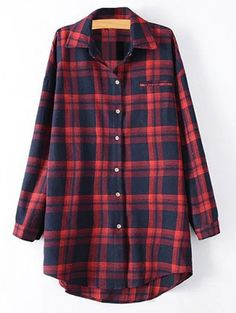 SHARE & Get it FREE | Plus Size Tartan ShirtFor Fashion Lovers only:80,000+ Items • New Arrivals Daily Join Zaful: Get YOUR $50 NOW!