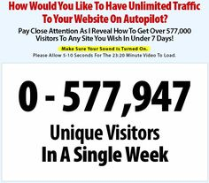 Watch this 23-minute video presentation if you want more traffic to your online business: http://www.internetmasterycenter.com/products/millionaire-society.html #traffic #business