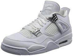 3d9928c470df Nike Air Jordan Men s Retro 4 Fashion Shoes. jordans