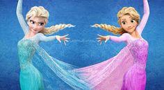 Rapunzel as an Elsa lookalike. That's new...