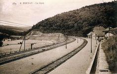 La gare de Fouday