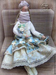 """Кукла Тильда """"Ванильное небо"""" - тильда,кукла Тильда,кукла текстильная"""