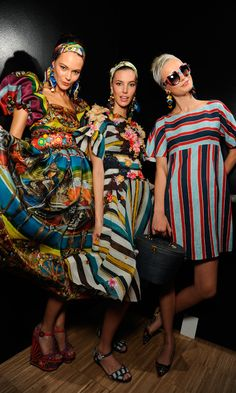 #dolcegabbana SS13 women's backstage