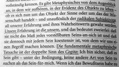 Die Metaphysik ist tot, es lebe die Metaphysik!  Merleau-Ponty: Das Metaphysische im Menschen. In: Das Auge und der Geist (62)