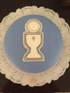 Torta Comunión varón Decorative Plates, Tableware, Design, Home Decor, Fiestas, Dinnerware, Decoration Home, Room Decor, Tablewares