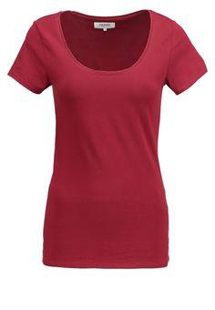 Zalando Essentials T-shirt basic - dark red - Zalando.nl