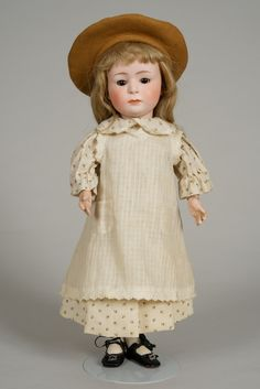 Heubach 7246 Pouty Character Child - 14.5 Inch from beckysbackroom on Ruby Lane