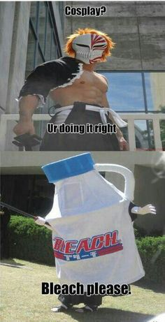 Ultimate Bleach cosplay! #anime #funny #meme