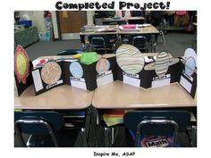 SOLAR SYSTEM FLIP BOOK: STUDENT CREATED! - TeachersPayTeachers.com