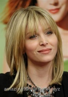 Outstanding Hairstyles with Bangs for Older Women | Gallery of Medium Hairstyles with Bangs by may  The post  Hairstyles with Bangs for Older Women | Gallery of Medium Hairstyles with Bangs …  appe ..
